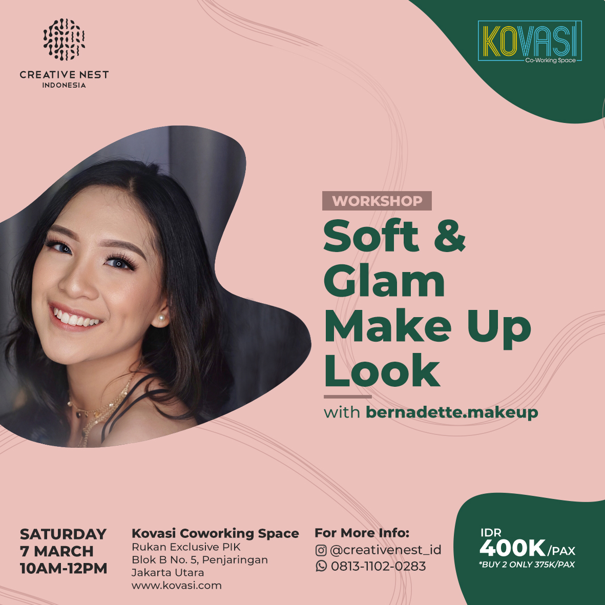 Soft and Glam Make Up Look